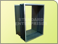 Rectangular Pvc Coated Fabric Bellows